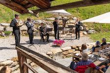 Opus No. 3: «Alpkonzert mit der Gstaad Festival Brass»