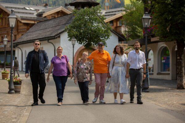 """family affair"": ESPRIT RAVET at the mountain resort Wasserngrat"